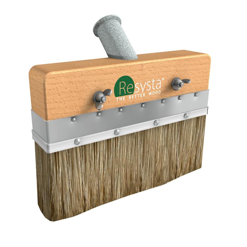 resysta flat brush