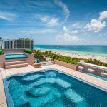 Decking Sun terrace Miami