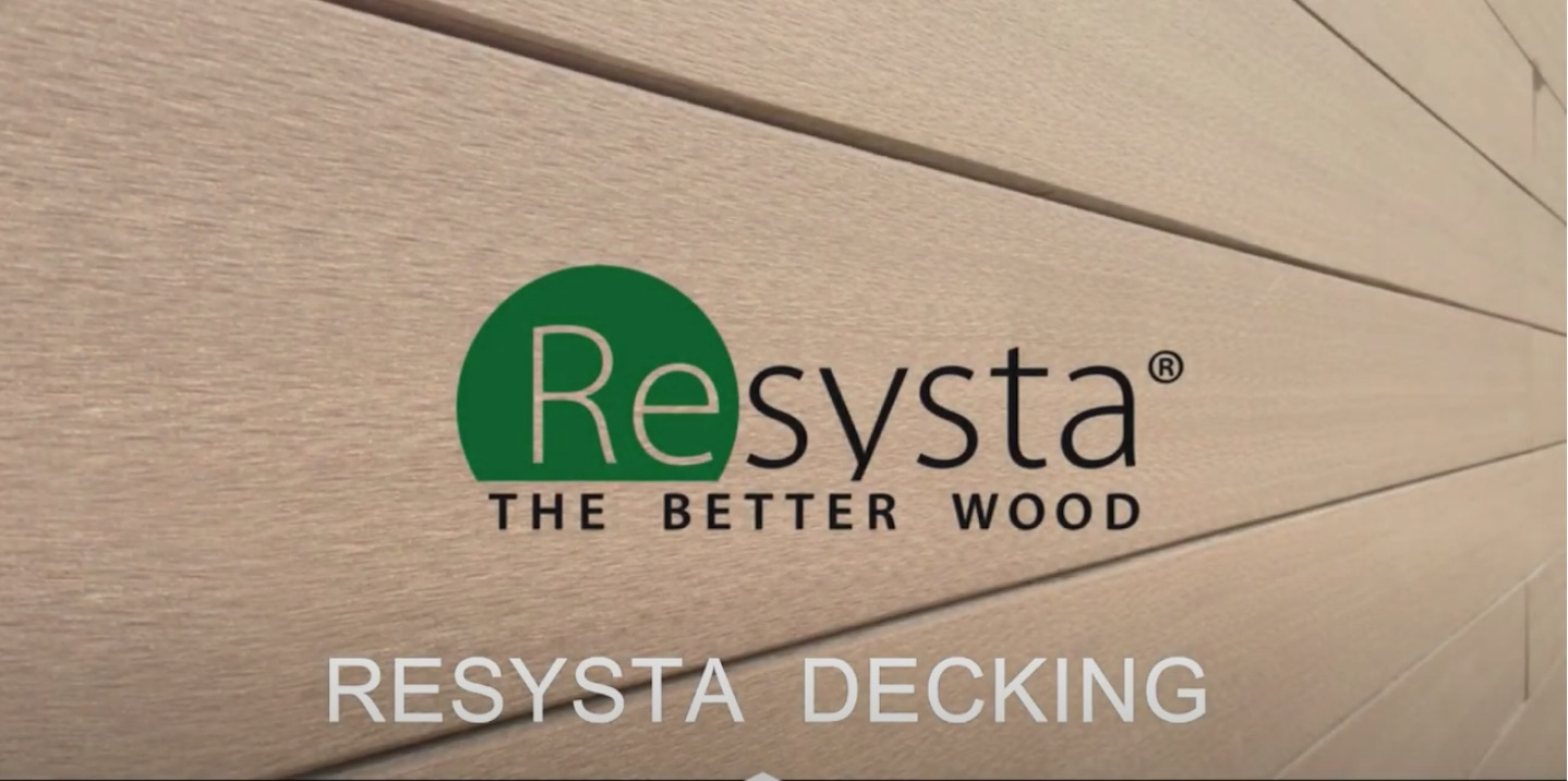 RESYSTA Decking, installation Video